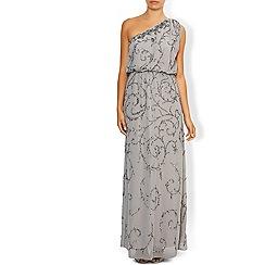 Monsoon - Grey 'Ember' maxi dress