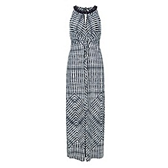 Monsoon - Blue Ruby print maxi dress