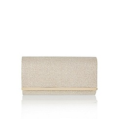 Monsoon - Gold 'Esme' sparkle clutch bag