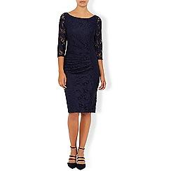 Monsoon - Blue 'Copal' lace dress