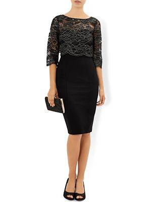 Black Coloured Occasion Outfits And Dresses 2017 Black
