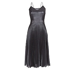 Monsoon - Silver Kendal pleated dress