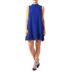 Monsoon - Blue Dorri lace dress