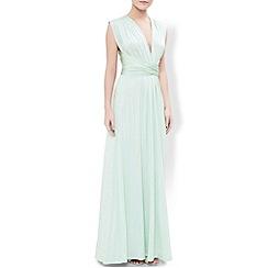 Monsoon - Green Garland maxi dress