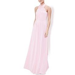 Monsoon - Pink Garland maxi dress