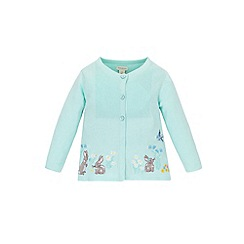 Monsoon - Baby girls' blue eleanor cardigan