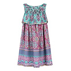 Monsoon - Baby girls' multicoloured maida print dress