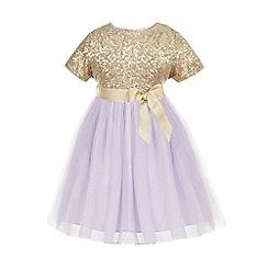 Monsoon - Purple Baby mila sequin dress