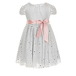 Monsoon - Silver Baby moonbeam sparkle dress