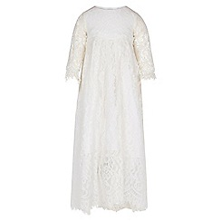 Monsoon - White Baby renata christening dress