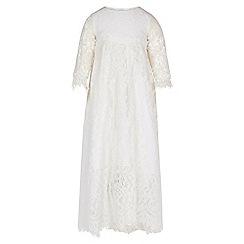 Monsoon - White Baby renata christening dress