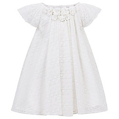 Monsoon - White Baby Sala lace dress