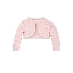 Monsoon - Baby girls' pink honeysuckle cardigan