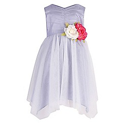 Monsoon - Baby girls' purple isabelline dress