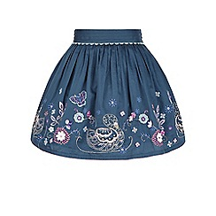 Monsoon - Blue Suki swan skirt