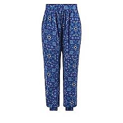 Monsoon - Girls' blue Tiani trouser