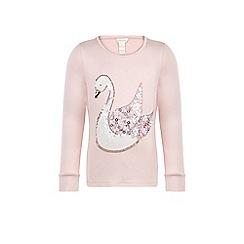 Monsoon - Pink Susannah swan top