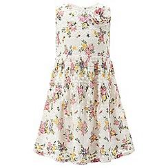 Monsoon - Girls' white Annie lace dress