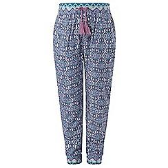 Monsoon - Girls' Purple Hira printed trouser