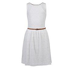 Monsoon - Girls' white Geneva dress