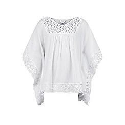 Monsoon - Girls' white Lanikai top