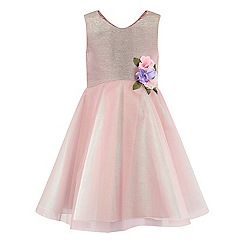 Monsoon - Girls' pink Rivka dress