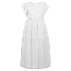 Monsoon - White Elisca maxi dress