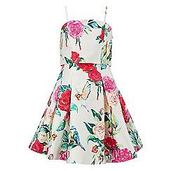 Monsoon - Girls' multicoloured  Eden floral print dress