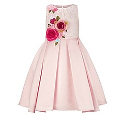 Monsoon - Girls' pink Rosella flowers dress