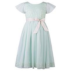 Monsoon - Green Sally sequin dress