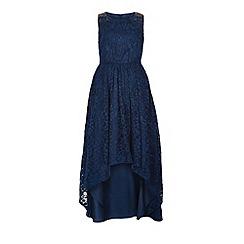 Monsoon - Girls' blue Millie maxi dress