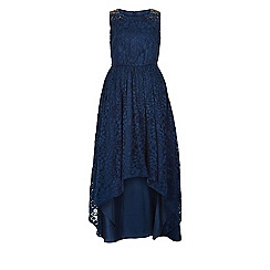 Monsoon - Girls' blue Millie maxi dress