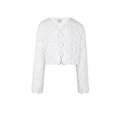 Monsoon - Girls' white Missouri lace jacket