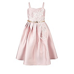 Monsoon - Girls' pink Evangelina dress