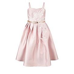 Monsoon - Girls' pink Evangelina dress
