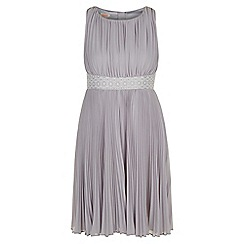 Monsoon - Grey Pennsylvania pleated dress
