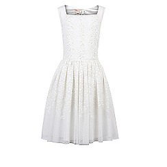 Monsoon - Girls' white Buenita dress