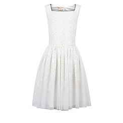 Monsoon - Girls' white Buenita dress