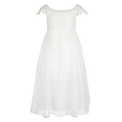 Monsoon - Girls' white estella dress