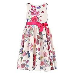 Monsoon - Girls' multicoloured  Danielle print dress