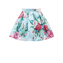 Monsoon - Girls' multicoloured  Eden floral skirt