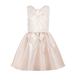 Monsoon - Girls' pink Anna sequin flower dress