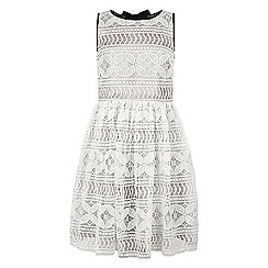 Monsoon - Girls' white Alenya lace dress