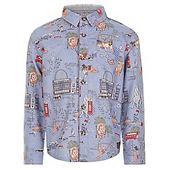Monsoon - Blue Robin London printed shirt