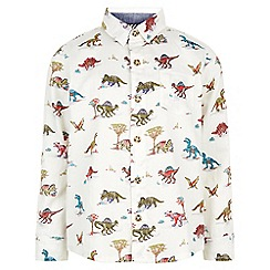 Monsoon - Multicoloured Davey dino textured long sleeve shirt