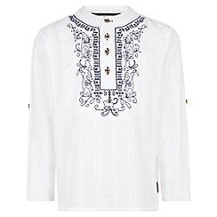 Monsoon - White 'Kenny' kurta shirt