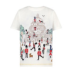 Monsoon - Baby boys' white St pauls london tee