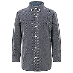 Monsoon - Boys' blue 'Lucas' shirt