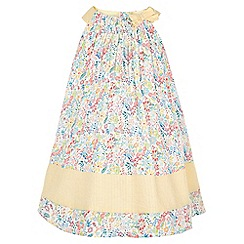 Monsoon - White Baby Lulu floral dress