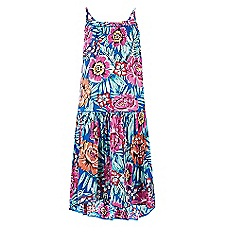 Monsoon - Girls' multicoloured Paloma floral print dress